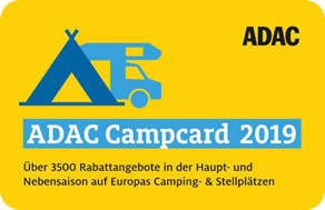 ADAC Camp-Card 2019